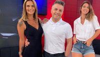 Cinthia Fernández, Ángel De Brito y Amalia Granata Fuente:(Instagram)