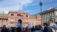 """Tras el escándalo por el """"Vacunatorio VIP"""", comenzaron las movilizaciones en diferentes puntos del país"""
