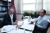 Sergio Leavy se reunió con el embajador de Bolivia y acordaron trabajar en obras para Salta