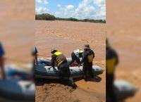 Serían 25 las personas que viajaban en el gomón que naufragó en el Río Bermejo