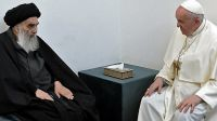 Papa Francisco en Irak. Fuente: Twitter