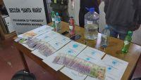 Agua que no has de beber: desde Salta, trasladaban cocaína en botellitas