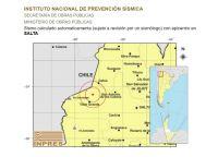 Susto en Salta, se registró un sismo de 5.1 muy cerca de la ciudad