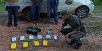 Detienen a un vehículo que transportaba más de 10 kilos de cocaína