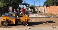 Continúan las obras en los barrios de la Ciudad