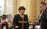 """Pese a estar en el listado, Gladys Paredes, negó ser una de las """"vacunadas estratégicas"""""""