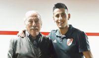 Angileri y su papá. Fuente (Twitter)