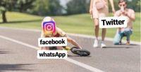 Caída de WhatsApp. Fuente (Twitter)