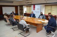 El Gobierno debate con el Colegio de Magistrados y Funcionarios sobre la Reforma constitucional