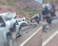 Terrible accidente sobre la Ruta Nacional 68: hay víctimas fatales