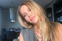 Mucha emoción: la marca de Guillermina Valdés cumple dos años