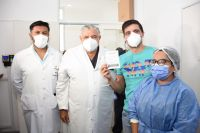 Más de 30 pacientes trasplantados ya fueron vacunados contra el COVID-19 en Salta