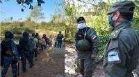 Gendarmes y Policías admiten desbordes en la frontera con Bolivia
