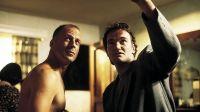 Bruce Willis y Quentin Tarantino. Fuente (Twitter)