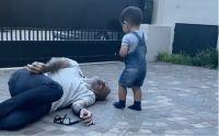 Jorge Rial y su nieto. Fuente (Instagram)