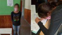 Amenazan a la familia de la niña que fue detenida por no usar barbijo