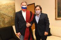 Gustavo Sáenz recibió al embajador de la Federación de Rusia en Argentina