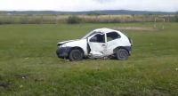 [FOTOS] Día de miércoles: joven salteña perdió el control de su auto y protagonizó un terrible accidente
