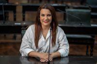 Apertura de Sesiones: Mónica Juárez participó de forma presencial del acto encabezado por Gustavo Sáenz y dio su opinión