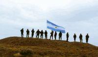 Soldados en Islas Malvinas. Fuente (Twitter)