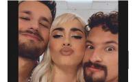 Lali Espósito, Mau y Ricky. Fuente (Instagram)