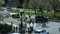 Alerta máxima en Estados Unidos: atacaron a policías y tuvieron que cerrar el Capitolio