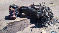 Accidente de moto: imagen ilustrativa