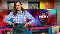 Tania Rincón en Hoy