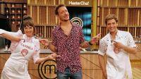 Cande Vetrano, Nico Vázquez y Gastón Dalmau. Fuente (Instagram)