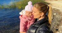 Sofía Zámolo y su hija de vacaciones