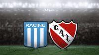 Racing e Independiente. Fuente (Twitter)
