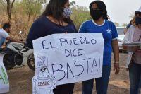 Se fue Quique Prado, pero Aguaray sigue en llamas: vecinos se manifiestan y cortan las rutas
