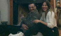 Jimena Barón y Daniel Osvaldo.  Fuente (Instagram)