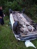 Se produjo un accidente vial en el acceso norte a la ciudad de Salta
