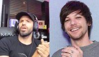 """El """"Kun"""" Agüero y un momento viral con Louis Tomlinson"""