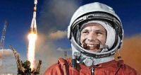 Yuri Gagarin. Fuente (Twitter)
