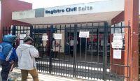 Registro Civil de Salta. Fuente: (Twitter)
