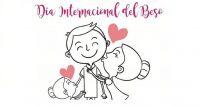 Día Internacional del Beso. Fuente (Pinterest)