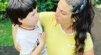 Juana Repetto y su hijo