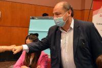 Preocupación: Ricardo Villada fue internado por una neumonía bilateral
