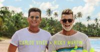 """Ricky Martin y Carlos Vives estrenaron """"Canción Bonita"""": ¿Qué famoso Tik Toker participó?"""