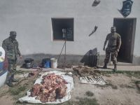 Abigeato: dos hombres fueron detenidos por la policía rural y ambiental