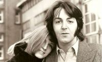 Paul y Linda McCartney. Fuente (Twitter)