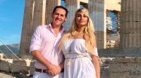 Javier Naselli y Vicky Xipolitakis. Fuente (Twitter)