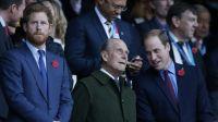 Así fue el esperado encuentro del príncipe William y el príncipe Harry en el funeral de Felipe de Edimburgo