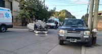 Se produjo un nuevo accidente vial en el macrocentro de la ciudad de Salta