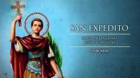 """""""Hoy, hoy, hoy"""": san Expedito, el protector de las causas urgentes"""