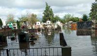 El Cementerio del Terror: en el interior salteño una necrópolis se encuentra bajo el agua y dejó de funcionar