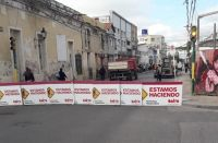 Allá las están bacheando: SAETA desvía varias de sus unidades por trabajos de la Municipalidad