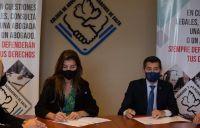 Bettina Romero firmó un convenio que beneficiará a los salteños